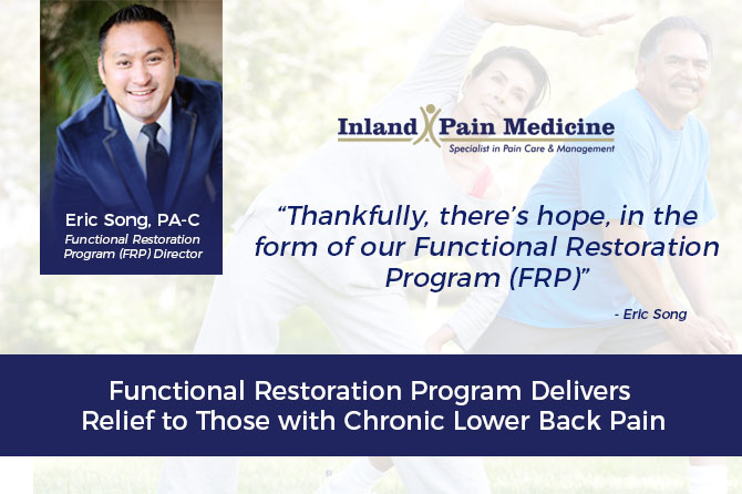 Functional Restoration Program Delivers Relief to Those with Chronic Lower Back Pain