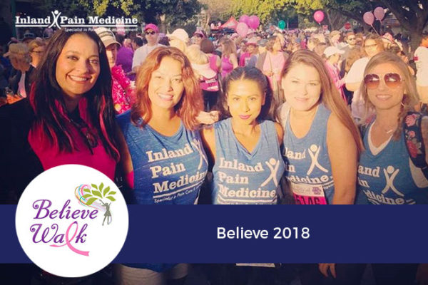 Breast Cancer Awareness – Believe Walk 2018