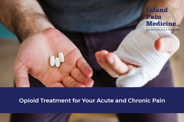 Opioid Treatment for Your Acute and Chronic Pain