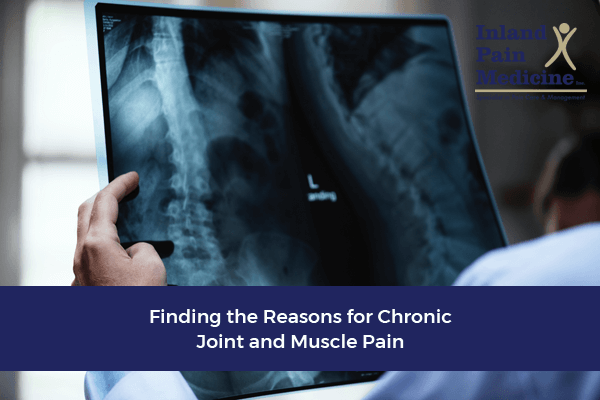 Finding The Reasons for Chronic Joint and Muscle Pain