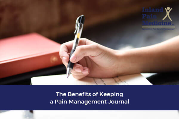 The Benefits of Keeping a Pain Management Journal
